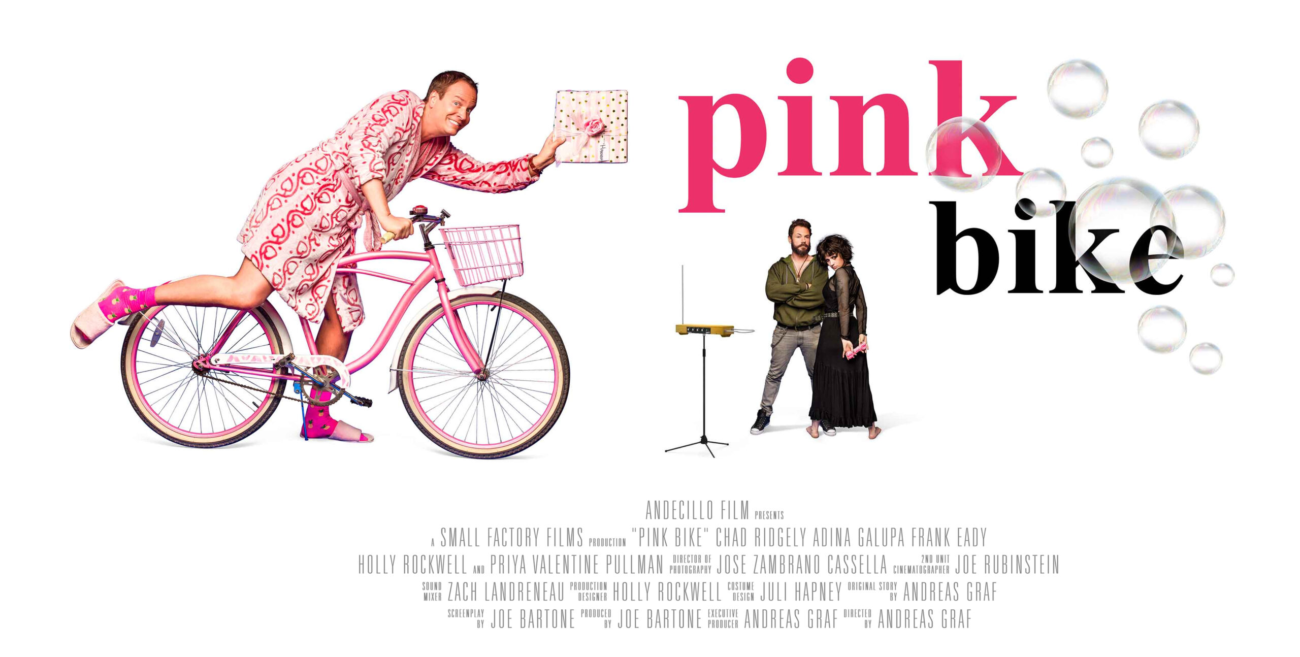 Pink Bike Movie directed by Andreas Graf